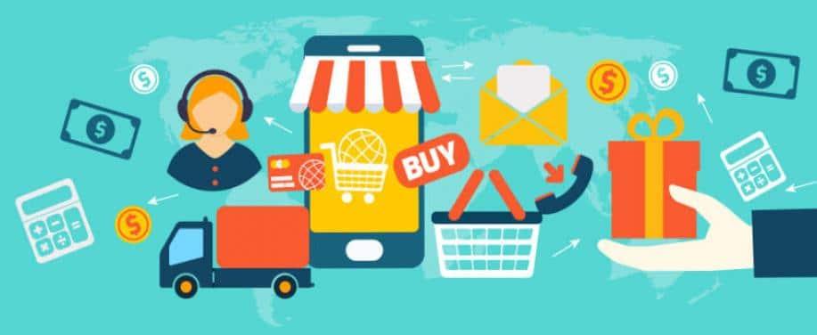 Online eCommerce retail sales grow in december 2019