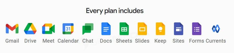 Google Workspace plans 1_SilkMedia Website Service