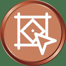 Bronze Logo Design_silk media web services_1