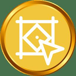 Gold Logo Design_silk media web services_1