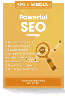 SEO Power Package_designed by silkmedia.com.au