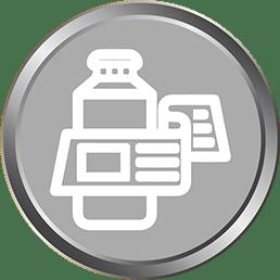 Silver Product Label Design_silk media web services