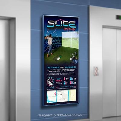 Slice Virtual Golf poster_designed by Silkmedia.com.au_4